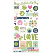 Simple Stories Cardstock Stickers 6X12 - St. Patrick's Day