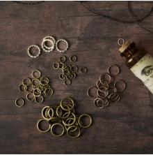 Prima Frank Garcia Memory Hardware Embellishments - Villeneuve Metal Rings