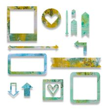 Sizzix Thinlits Die Set 15PK - Frames