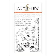 Altenew Clear Stamps 4X6 - Birch Land
