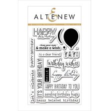 Altenew Clear Stamps 4X6 - Birthday Greetings