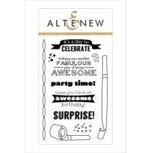 Altenew Clear Stamps 4X6 - Birthday Bash