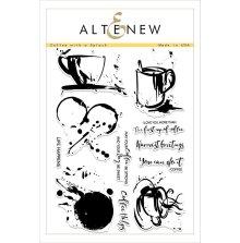 Altenew Clear Stamps 6X8 - Coffee with a Splash