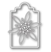 Poppystamps Die - Celeste Snowflake Tag