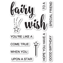 Poppystamps Clear Stamp - Fairy Wishes