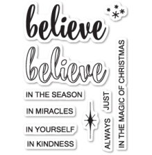 Poppystamps Clear Stamp - Do You Believe