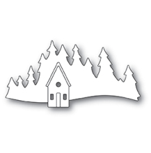Memory Box Die - Alpine Cabin