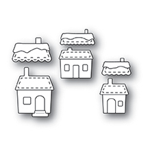 Memory Box Die - Stitched Village