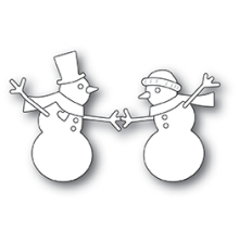 Memory Box Die - Dancing Snowmen