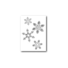 Poppystamps Die - Stitched Snowflake Cutouts