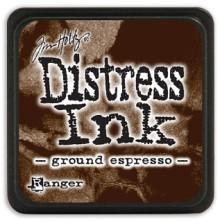 Tim Holtz Distress Mini Ink Pad - Ground Espresso