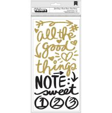 Vicki Boutin Thickers Stickers 5.5X11 2/Pkg - All The Good Things Phrase