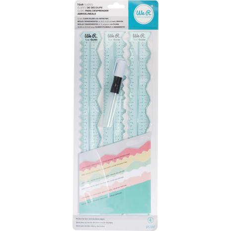 We R Memory Keepers Tear Guides 4/Pkg