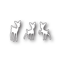 Poppystamps Die - Tiny Fawns