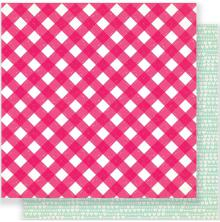 Crate Paper Main Squeeze Double-Sided Cardstock 12X12 - Just Love
