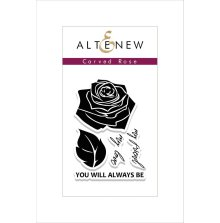 Altenew Clear Stamps 2X3 - Carved Rose