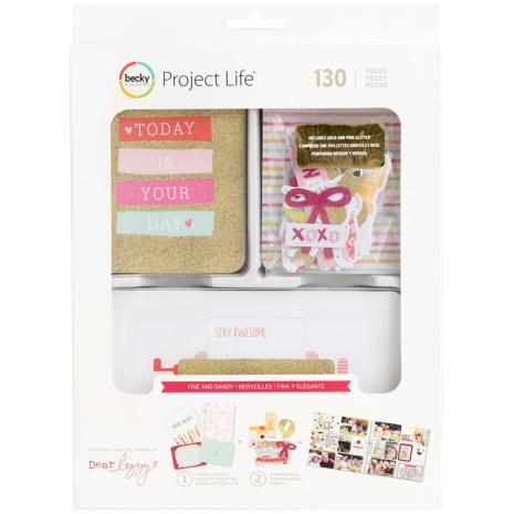 Project Life Value Kit 60/Pkg - Fine & Dandy