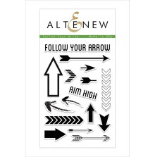 Altenew Clear Stamps 4X6 - Follow Your Arrow