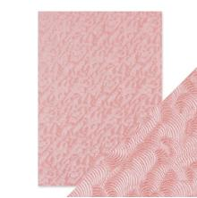 Tonic Studios Craft Perfect Handmade Papers - Pink Champagne