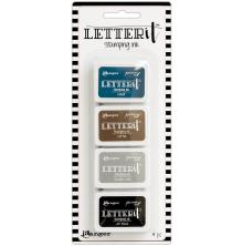Ranger Letter It Stamping Ink - Set 1