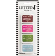 Ranger Letter It Stamping Ink - Set 2