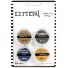 Ranger Letter It Embossing Powder Set - Metallics
