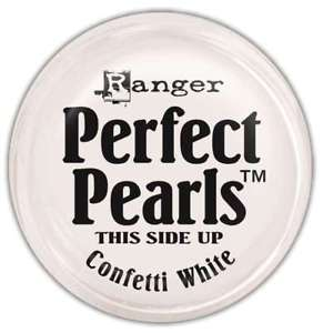 Ranger Perfect Pearls Pigment Powders - Confetti White