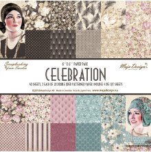 Maja Design 6x6 Paper Pack - Celebration