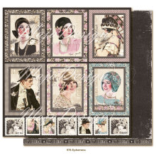 Maja Design Celebration 12X12 - Ephemera