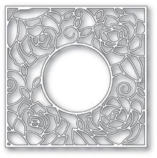 Poppystamps Die - Rose Frame