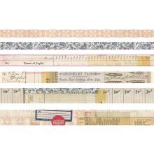 Tim Holtz Idea-Ology Design Tape 6/Pkg - Merchant