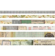 Tim Holtz Idea-Ology Design Tape 6/Pkg - Collector