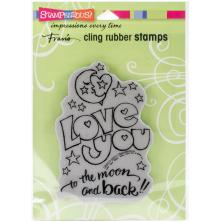 Stampendous Cling Stamp 2.75x4 - Great Big Love