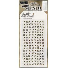 Tim Holtz Layered Stencil 4.125X8.5 - Stitched