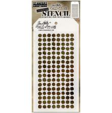 Tim Holtz Layered Stencil 4.125X8.5 - Dotted