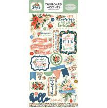 Carta Bella Flora No. 2 Chipboard 6X13 - Accents