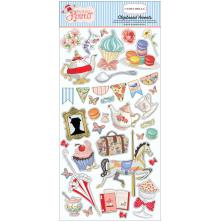 Carta Bella Practically Perfect  Chipboard 6X13 - Accents
