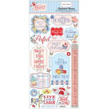 Carta Bella Practically Perfect Chipboard 6X13 - Phrases