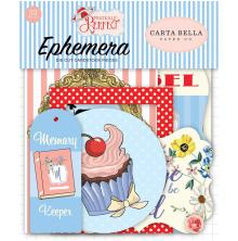 Carta Bella Practically Perfect Cardstock Die-Cuts 33/Pkg - Icons