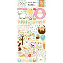 Echo Park Hello Easter Chipboard 6X13 - Accents