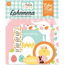 Echo Park Hello Easter Cardstock Die-Cuts 33/Pkg - Icons