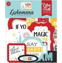 Echo Park Wish Upon A Star Cardstock Die-Cuts 33/Pkg - Icons