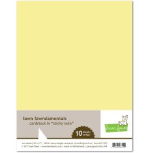 Lawn Fawn Cardstock Pack - Sticky Note
