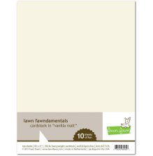 Lawn Fawn Cardstock Pack - Vanilla Malt