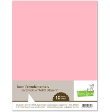 Lawn Fawn Cardstock Pack - Ballet Slippers