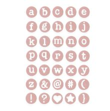 Sizzix Thinlits Die Set 35/Pkg - Dainty Lowercase