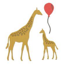 Sizzix Thinlits Die Set 5/Pkg - Giraffes