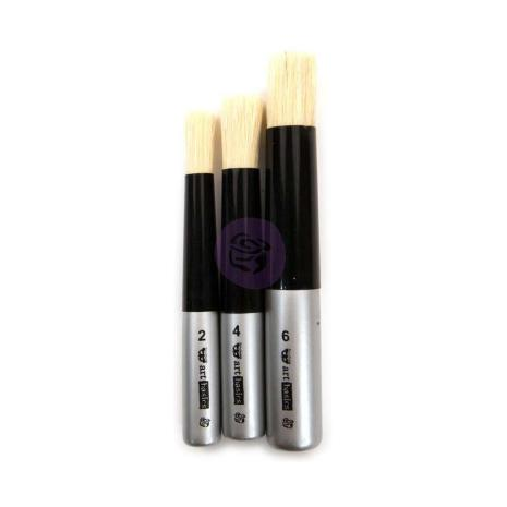 Prima Finnabair Art Basics Dabbing Brushes 3/Pkg