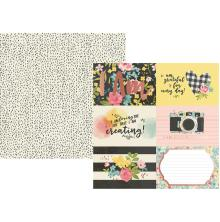 Simple Stories I Am Specialty Cardstock 12X12 - 4X6 Horizontal Elements