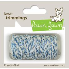Lawn Fawn Trimmings Hemp Cord 21yd - Ocean